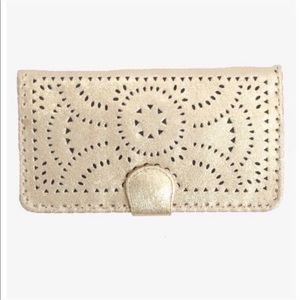 Cleobella Gold Mexicana Wallet